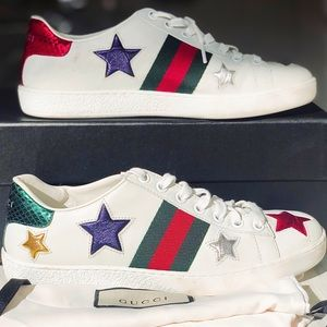 Gucci Ace Star Sneakers